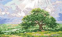 Рисунок на канве для вышивки нитками мулине 50933 Идилия