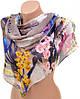 Шикарный женский шарф 50 на 160 из легкого шифона 10112 G2