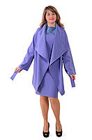 Кардиган синий женский легкий , По 016-1, большие размеры.
