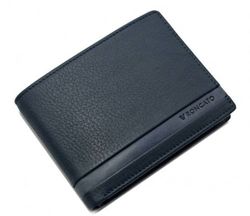 Практичное портмоне для мужчин Roncato Cuba 410930/23 т. синий
