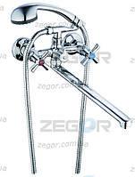 Cмесители для ванной Zegor DMT с двухпозиционным картриджным переключателем
