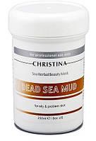 Грязевая маска красоты для жирной кожи лица / Sea Herbal Beauty Dead Sea Mud Mask, 250 мл