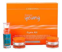 Набор препаратов для ухода за кожей век / Eyes Kit (Forever Young)