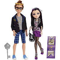 Набор Ever After high Декстер Чарминг и Рейвен Квин Ночная прогулка Date Night Dexter Charming and Raven Queen
