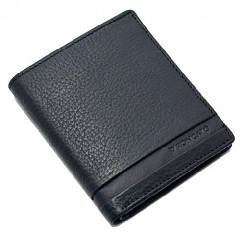 Портмоне кожаное прочное мужское ТМ Roncato Cuba 410932/01 черный