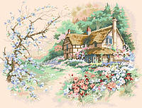 Рисунок на канве для вышивки нитками 10322 Весна
