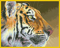 Рисунок на канве для вышивки нитками 50702 Тигр