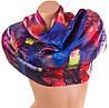 Шикарный атласный женский шарф 180 на 92 см. ETERNO (ЭТЭРНО) ES1405-7-4