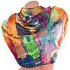 Прекрасный атласный женский шарф 178 на 90 см. ETERNO (ЭТЭРНО) ES1405-7-3