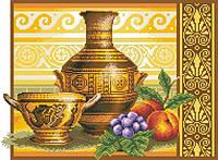 Рисунок на канве для вышивки нитками 82112 Греческий натюрморт