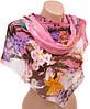 Интригующий женский шарф 50 на 160 из легкого шифона 10112 G3