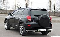 Задние уголки (защита) Toyota Rav4 (2006+)