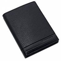 Черный портмоне для мужчин из натуральной кожи ТМ Roncato Cuba 410934/01