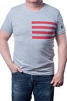 Мужская футболка GIVENCHY (серая)