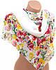 Экстравагантный женский шарф 50 на 160 из легкого шифона 10112 H1