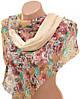 Неповторимый женский шарф 50 на 160 из легкого шифона 10112 H2