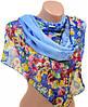 Оригинальный женский шарф 50 на 160 из легкого шифона 10112 H3