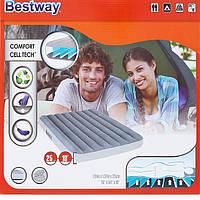 Bestway велюр-матрас 67540(191*137*25,см)