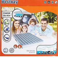 Bestway велюр-матрас 67541(203*152*25,см)