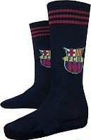 Гетры футбольные детские ФК Барселона р-р 32-38 темно синие