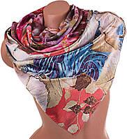 Двусторонний яркий атласный женский шарф 166*70 см ETERNO (ЭТЕРНО) ES0406-7-6