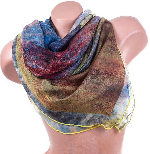 Легкий шифоновый женский шарф 186 на 100 см. ETERNO (ЭТЭРНО) ES1405-4-3