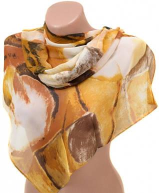 Практичный женский шарф 50 на 160 из легкого шифона 10112 K5