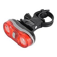 Задний свет велосипеда, 2-LED красный 3-режима, тир оптика, видимость 180 градусов, велосипедов задний фонарь