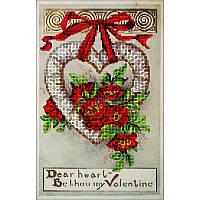 """Набор для вышивания бисером Краса і творчість """"День Св.Валентина 2"""""""