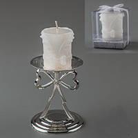 """Свадебные свечи 2 вида: """"Жених"""" и """"Невеста"""" 6 см"""