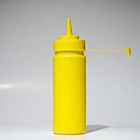 Желтый диспенсер Empire 7082 бутылочка для соусов и сиропа 350 мл