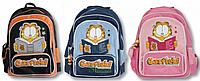 Рюкзак ортопедический школьный  Garfield, Гарфилд 551006 синий, 551007 розовый, 551008 черный