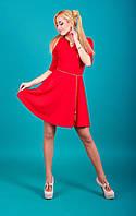 Красивое и стильное платье с пояском