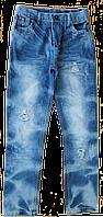 Модные джинсы на мальчика легкие