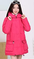 Зимнее пальто пуховик на девочку подростковое