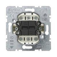 Двухклавишный выключатель/переключатель Berker 303808