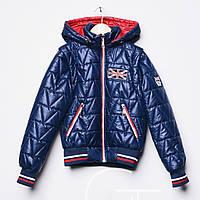 Детская куртка жилетка на мальчика весна осень подростковая
