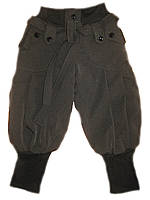 Детские теплые брюки на девочку