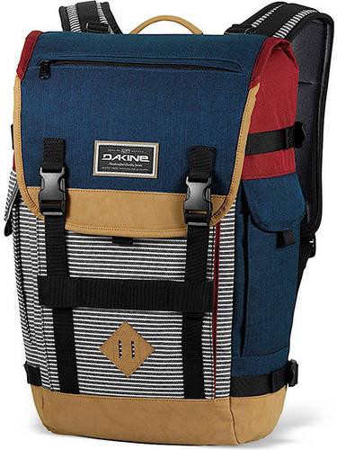 Удобный мужской городской рюкзак Dakine Vault 25L Workstripe 610934842166 синий