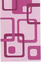 Пушистый ковёр First Shaggy 12282 розовый