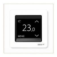 Сенсорный программируемый терморегулятор DEVIreg Touch White