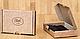 Надежная визитница из натуральной кожи BlankNote BN-KK-1-1-g графит, фото 5