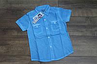 Катоновая рубашка для мальчиков 8 лет