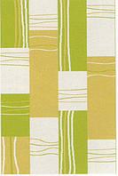 Высоковорсный  пушистый ковёр First Shaggy 4009 зеленый
