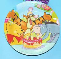 Бумажные тарелки Винни Пух и его друзья