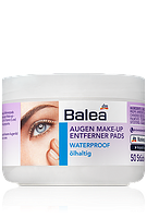 Салфетки для снятия водостойкого макияжа Balea Waterproof 50 шт.