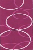 Высоковорсный  пушистый ковёр First Shaggy 4006 фиолет