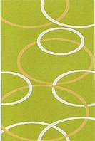 Высоковорсный  пушистый ковёр First Shaggy 4006 зеленый