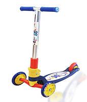 Детский самокат Explore Tredia Sport синий