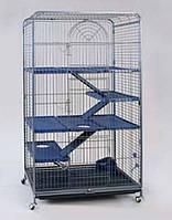 Вольер для грызунов,Золотая Клетка D801 (79*52*140см)